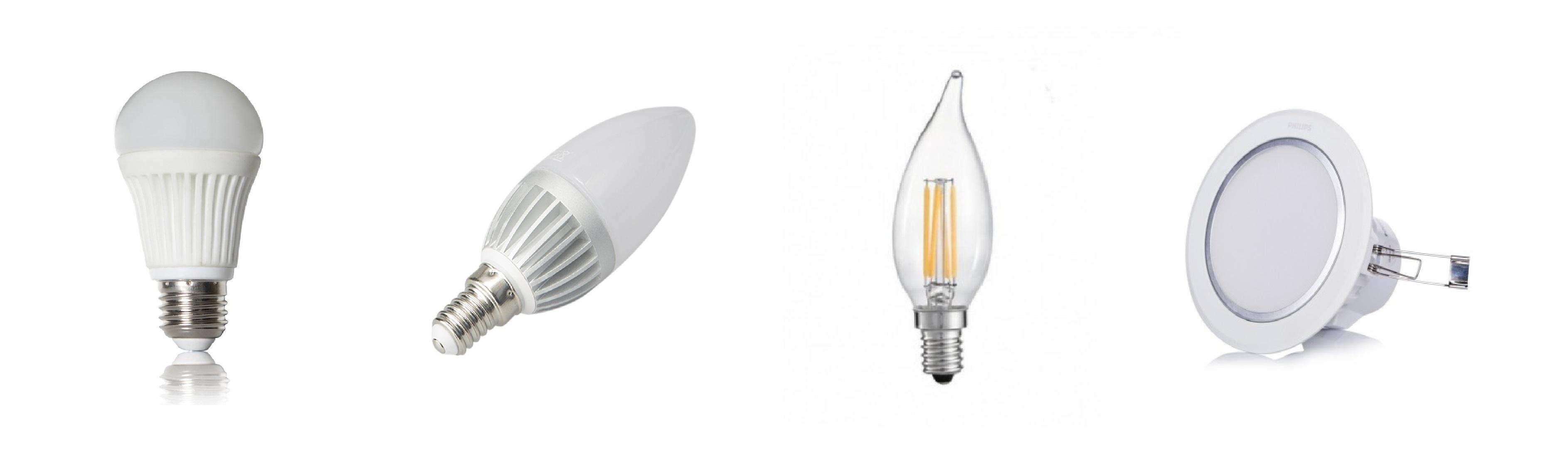 LED Bulbs List 1